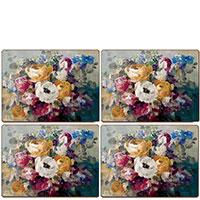 Сервировочные подставки Cala Home Fall Bouquet 4шт, фото