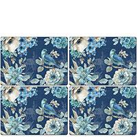 Набор кухонных ковриков Cala Home Indigold Dark 4шт, фото