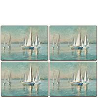 Сервировочный набор Cala Home Sailing at Sunrise 4шт, фото