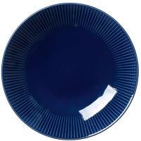 Глубокая тарелка Steelite Willlow Azure для салата синего цвета 28см, фото