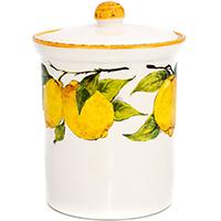 Емкость для хранения сыпучих Bizzirri Лимоны, фото