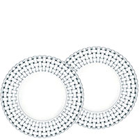 Набор круглых тарелок Nachtmann Bossa Nova 23см для салата из 2 штук, фото