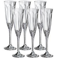 Набор бокалов для шампанского FMF Bohemia Windsor 6шт, фото