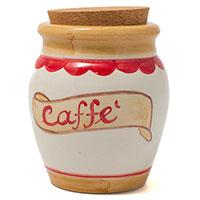 Емкость с крышкой Ceramiche Bravo Кофе, фото