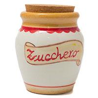 Емкость с крышкой Ceramiche Bravo Сахар, фото