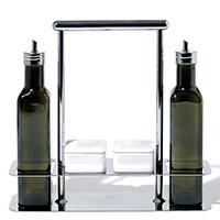 Набор для масла и специй Alessi Trattore на подставке, фото
