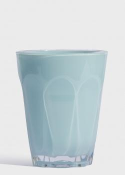 Стакан для воды Baci Milano Aqua 12см голубого цвета, фото