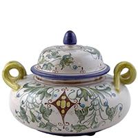 Ваза L'Antica Deruta Armi для хранения продуктов, фото