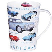 Чашка Dunoon Argyl Classic cars 1960, фото