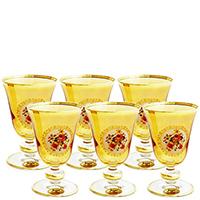 Набор из 6 бокалов для белого вина Art Decor Sofia Букет, фото