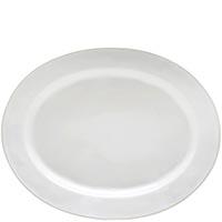 Блюдо овальное Costa Nova Astoria 40х32см белое, фото