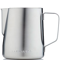 Молочник Barista & Co Beautifully Crafted 600мл серебристого цвета, фото
