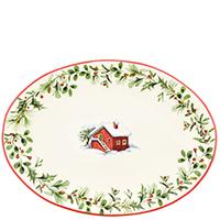Овальное блюдо Villa Grazia Лесная сказка, фото