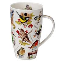 Кружка Dunoon Henley с принтом птиц 600мл, фото