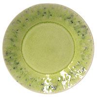 Десертная тарелка Costa Nova Madeira из керамики лимонного цвета, фото