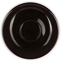 Блюдце Loveramics Egg 14,5см черное, фото