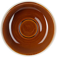 Блюдце Loveramics Egg 14,5см коричневое, фото