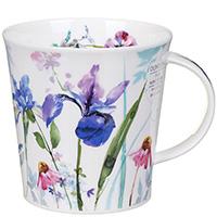 Чашка Dunoon Cairngorm Country Garden Ирисы 0,48 л, фото