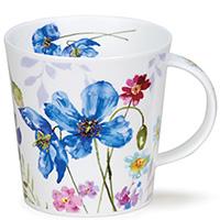 Чашка Dunoon Cairngorm Country Garden Васильки 0,48 л, фото