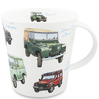 Чашка Dunoon Cairngorm Classic Collection Land Rovers 0,48 л, фото