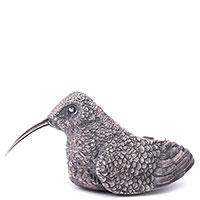 Серебряная солонка Оникс Птица, фото