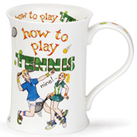 Чашка Dunoon Cotswold How to tennis 0,33 л, фото