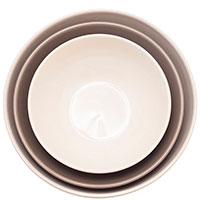 Набор из 3 керамических салатников Comtesse Milano, фото