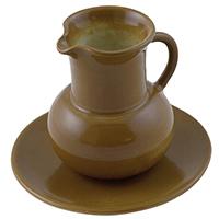 Керамический молочник L'Antica Deruta коричневого цвета, фото