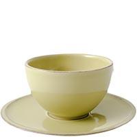 Чайная пара Costa Nova Friso зеленого цвета, фото