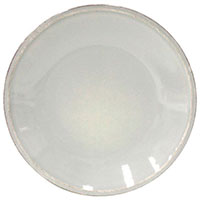 Мелкая тарелка Costa Nova Friso из серой керамики, фото
