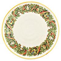Тарелка обеденная Villa Grazia Яркое Рождество 29см, фото