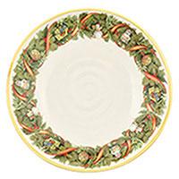 Тарелка для супа Villa Grazia Яркое Рождество 22см, фото