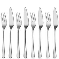 Фраже для рыбы Robert Welch Iona на 4 персоны 8 предметов, фото