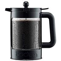 Френч-пресс Bodum Bean для айс-кофе черного цвета 1,5 л, фото