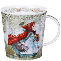 Чашка Dunoon Lomond Fairy Tales Little Red Riding 0,32 л, фото