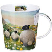 Чашка Dunoon Lomond The Sheep Dandelion 0,32 л, фото
