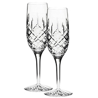 Бокалы для шампанского Royal Scot Crystal London 2 шт, фото