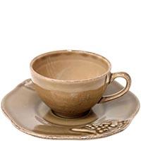 Набор из 6 кофейных чашек Costa Nova Mediterranea коричневого цвета, фото