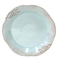 Тарелка для салата Costa Nova Mediterranea бирюзовая 21см, фото