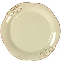 Набор из 6 тарелок для салата Costa Nova Mediterranea бежевого цвета, фото