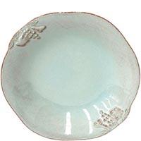 Набор из 6 тарелок для супа Costa Nova Mediterranea голубого цвета 570мл, фото