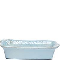 Закусочная тарелка Costa Nova Mediterranea 19x9x5см голубая, фото