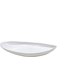 Овальное блюдо Costa Nova Aparte 31х14см белого цвета, фото