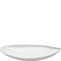 Блюдо овальное Costa Nova Aparte 45.5х21см белое, фото