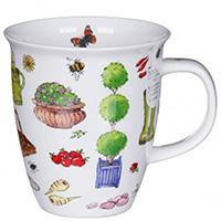 Чашка Dunoon Nevis Gardening Time Резиновые сапоги, фото