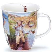 Чашка Dunoon Nevis Country Sports Fishing 0,48 л, фото