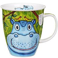 Чашка Dunoon Nevis Go Wild Hippop, фото