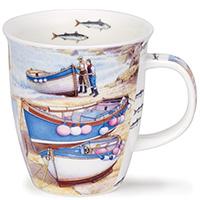 Чашка Dunoon Nevis Low Tide Синяя лодка 0.48 л, фото
