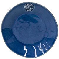 Синяя десертная тарелка Costa Nova NovaNova из керамики, фото