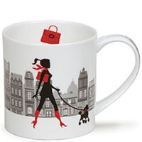 Чашка Dunoon Orkney City Chic Дамская сумочка, фото